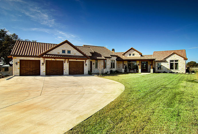 Custom home builders new home construction austin Country home builders in texas